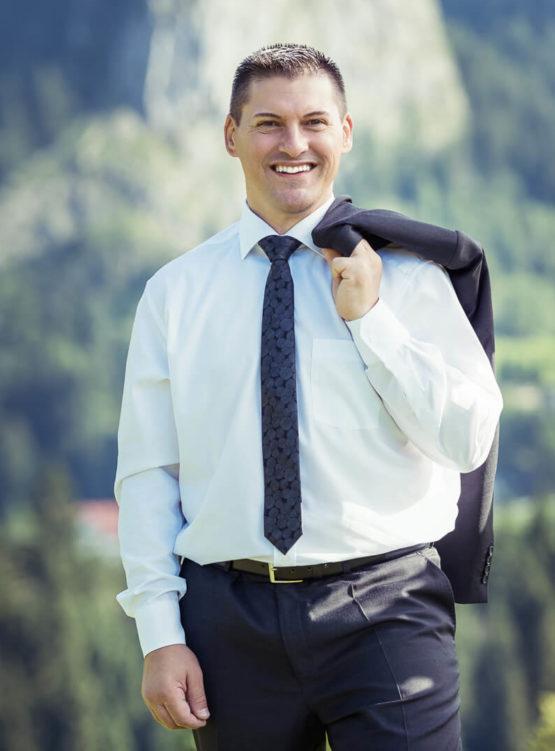 Thomas Bencik. Porträt. Inhaber Bencik Sicherheitsheitsmanagement.